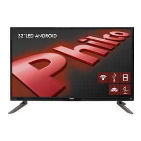 Smart-TV-Android-LED-32-Philco-HD-com-Conversor-Digital.-Entradas-2-HDMI-e-2-USB-PH32C10DSGWA-Preta