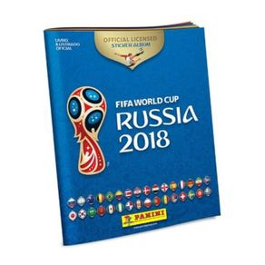 Álbum de Figurinhas Copa do Mundo Rússia 2018 com Capa Brochura e 12 Envelopes Panini