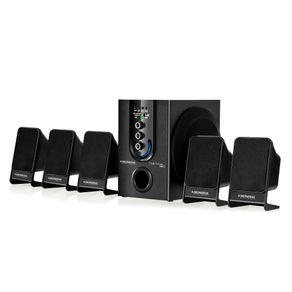 Home Theater Mondial com FM. 75WRMS e Entradas USB e SD Multi Home FM II HT-12