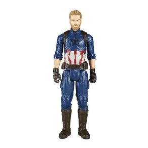 Boneco Capitão América Vingadores Guerra Infinita E1421 Hasbro