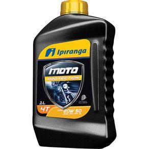 Óleo Lubrificante Moto Protection 20W50 SL 1L Ipiranga