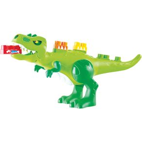 Blocos de Montar 30 Peças Dino Jurássico Baby Land 8001 Cardoso