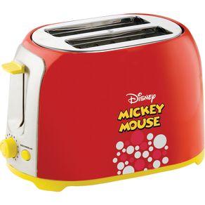 Torradeira Mallory Mickey Mouse Vermelha 127V