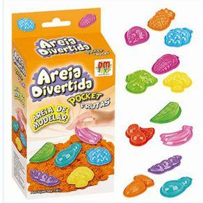 Areia Divertida Frutas DM Toys DMT5124