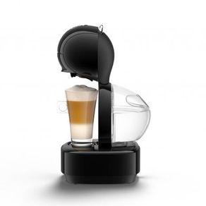Cafeteira Expresso Arno 15BAR para Cápsula Nescafé Dolce Gusto Lumio DGL0 Preta 127V