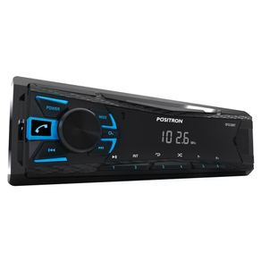 Som Automotivo Bluetooth Pósitron SP2230BT com MP3. FM e Entrada USB