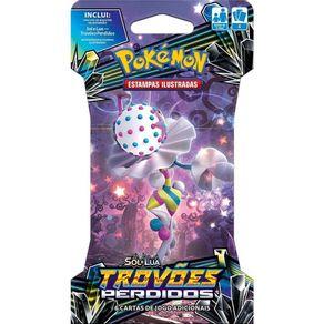 Jogo de Cartas Pokémon Copag Blister Unitário 99237 Sol e Lua Trovões Perdidos