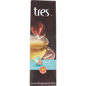 Cápsula Tres com 10 Unidades de 2.5g Chá de Camomila