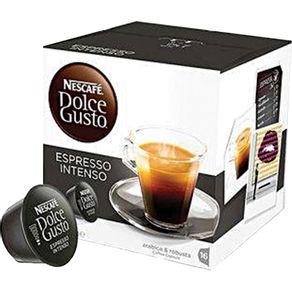 Cápsula Dolce Gusto Nescafé com 10 Unidades de 8g Espresso Intense