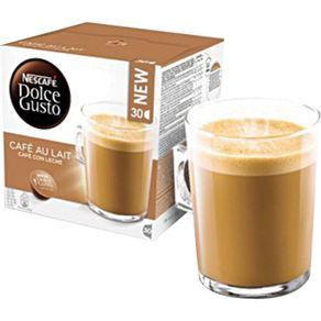 Cápsula Dolce Gusto Nescafé com 10 Unidades de 10g Café ao Leite