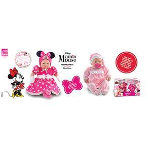 Boneca Recém Nascido Roma Minnie Classic Dolls 5162