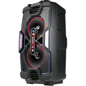 Caixa Acústica 200W Bluetooth Amvox ACA200 Turbo com Entradas USB e Auxiliar