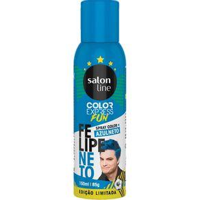 Spray Color Salon Line Felipe Neto 150ml Azulneto