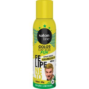 Spray Color Salon Line Felipe Neto 150ml Amareloneto