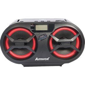 Rádio com CD Bluetooth 15WRMS Amvox AMC595 New BT com Entradas USB e Auxiliar