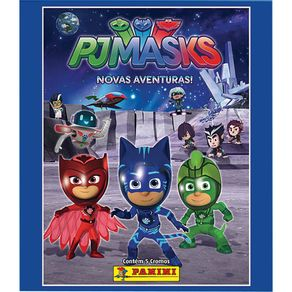 Figurinhas PJMasks com 12 Envelopes DTC