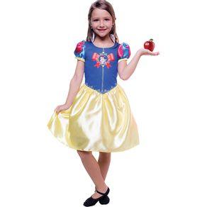 Fantasia Infantil Regina Princesa Branca de Neve M
