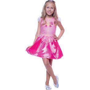 Fantasia Infantil Regina Princesa Bela M