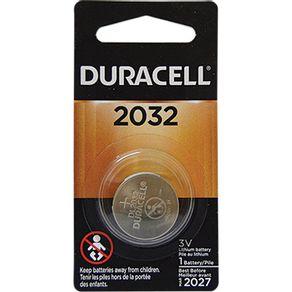 Bateria Litio 3V Duracell 2032