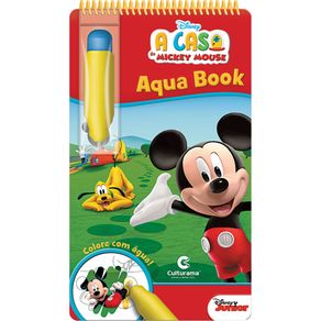 Livro Infantil Aquabook Culturama A Casa do Mickey