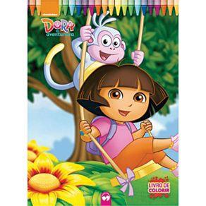 Livro Infantil Gigante Dora a Aventureira
