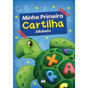 Livro Infantil Minha Primeira Cartilha Alfabeto