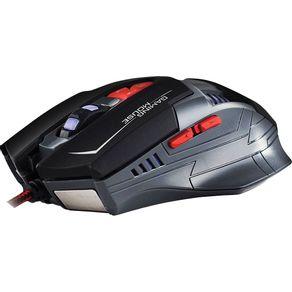 Mouse Gamer Hoopson Programável GX-800 Preto