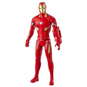 Boneco Homem de Ferro 30cm Hasbro Vingadores Ultimato Titan Hero E3918