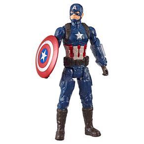 Boneco Capitão América 30cm Hasbro Vingadores Ultimato Titan Hero E3919