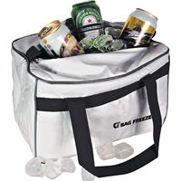Bolsa Térmica 14l Bag Freezer 100 Cotérmico Branca