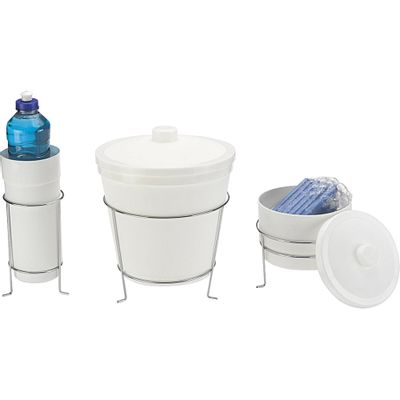 Conjunto Lixeira Porta Sabão Porta Detergente Arthi - Casa e Video 5d2a00a012032