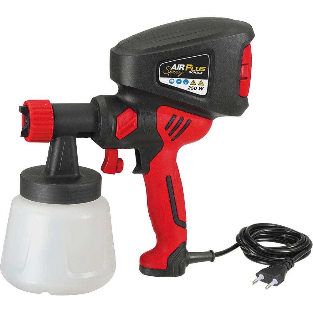 Pistola para pintura e pulveriza o air plus spray schulz - Pistolas de pintura electricas ...
