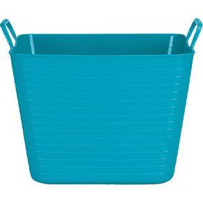 cesto-22l-flexivel-multiuso-quadrado-arthi-azul-tiffany