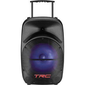 Caixa-Amplificada-com-MP3-FM-Bluetooth-Microfone-100WRMS-Entradas-USB-SD-e-Auxiliar-TRC-328---Preta