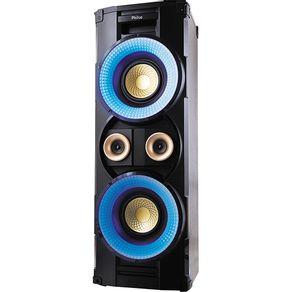 Caixa Acústica com MP3 FM Bluetooth 1000WRMS Entradas USB SD e Auxiliar Philco PHT10000