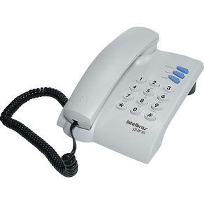 Telefone-Pleno-Intelbras-Cinza
