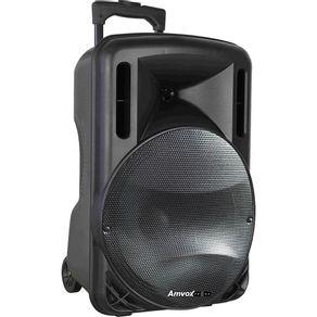 Caixa Amplificadora com Bluetooth Potência 280W USB SD e Auxiliar Amvox ACA280 Bivolt