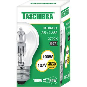 Lamp-Halog-100W-Taschibra-Am-127V