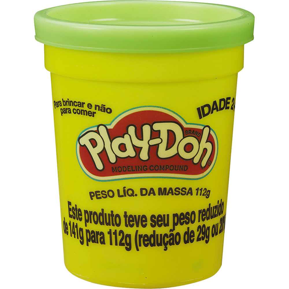 d18b2629ac Massinha Play-Doh Pote Individual B6756 Hasbro Sortida - Casa e Video