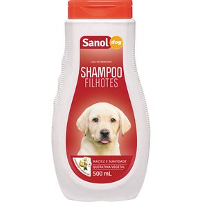 Shampoo-SanolDog-Filhote-500ml