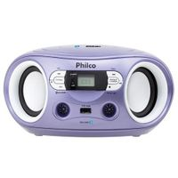 //www.casaevideo.com.br/radio-sem-cd-com-bluetooth--mp3--fm--entardas-usb--auxiliar-philco-pb122btl-lavanda/p