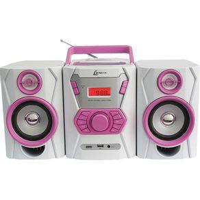 Micro-System-CD-MP3-USB-Lenoxx-MC265-Ro