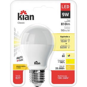 Lamp-Led-9W-Classic-Kian-Am-Bv