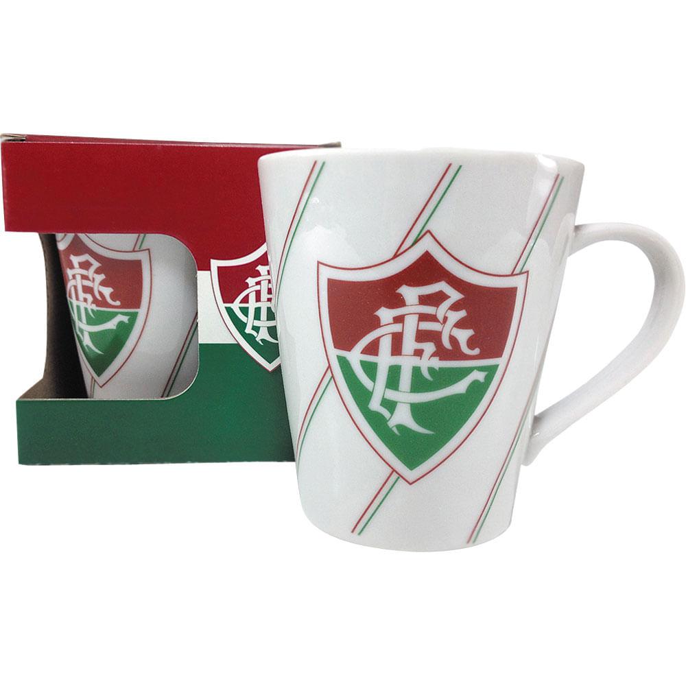 Caneca Porcelana 300ml Allmix Fluminense - Casa e Video a812f8f01bafb