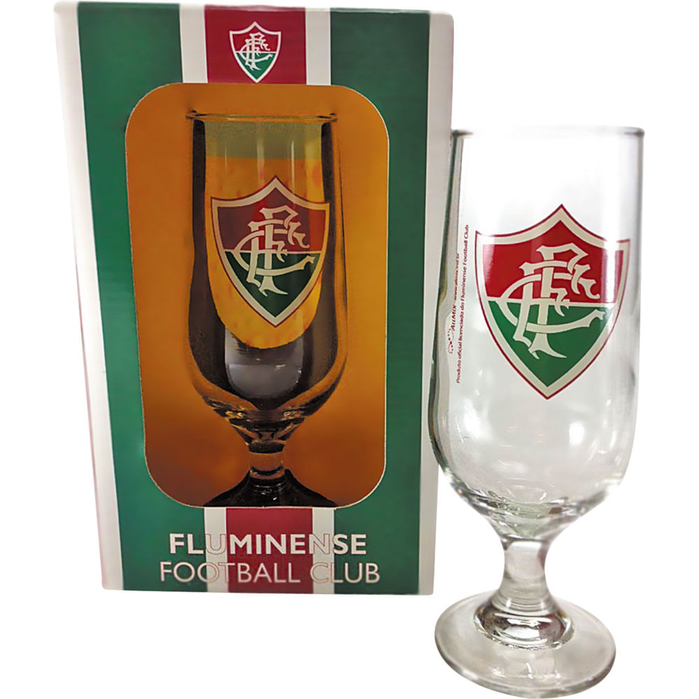Taça de Cerveja 300ml Allmix Fluminense - Casa e Video d0e75a7cf50dc