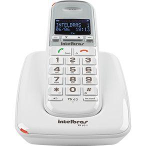 Telefone sem Fio Identificador de chamadas Intelbras