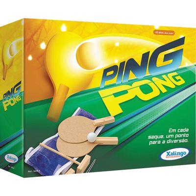 61a145cdb Kit 2 Raquetes e Bola de Ping Pong 4850 Bel Fix - Casa e Video