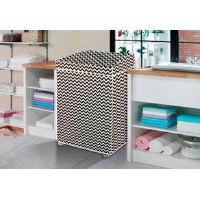 Capa-para-Maquina-de-Lavar-Forrada-Vida-Pratika-Zig-Zag-P