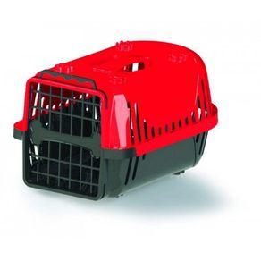 Caixa-de-Transporte-Atacapet-Plastica-Nº1-Evolution-Travel-21120-Vermelho