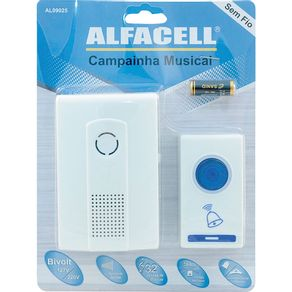 Campainha-s-Fio-32Sons-AL09025-Alfacell
